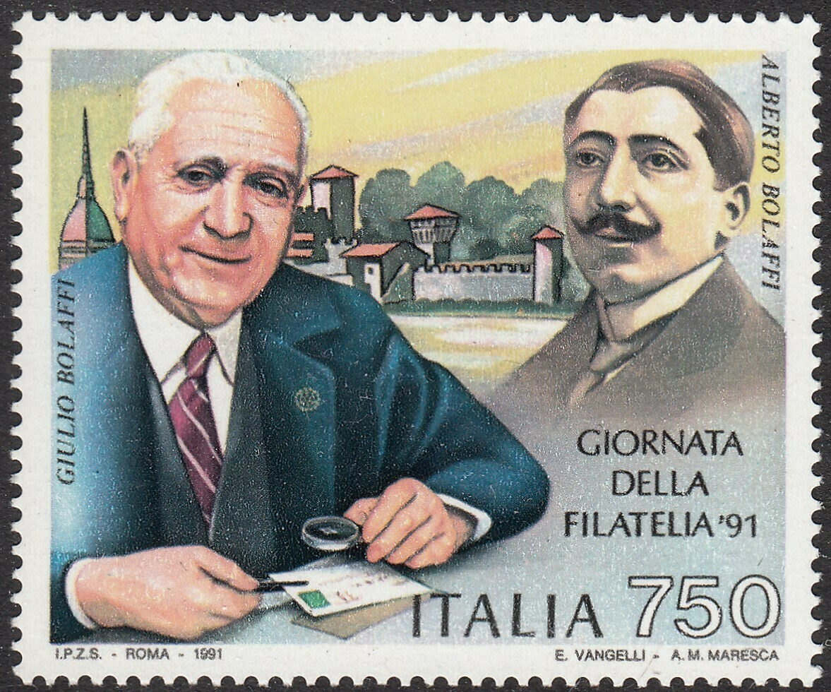 Italy 1991 750lire Stamp Day MUH