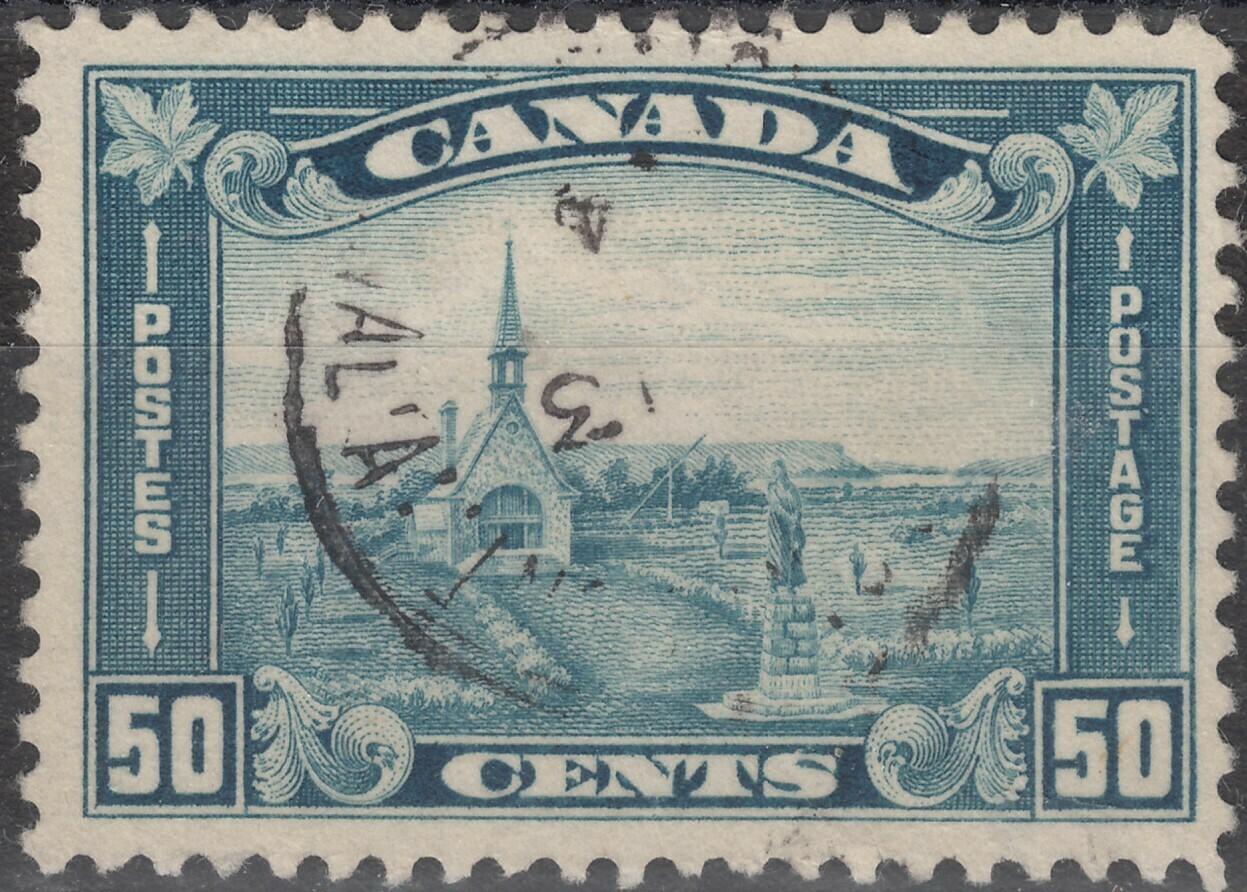 Canada 1930 KGV 50c Acadian Church VFU