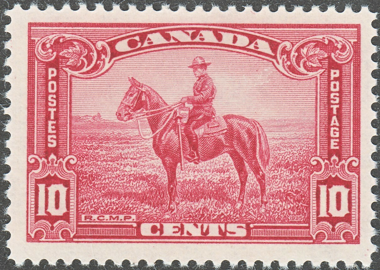 Canada 1935 KGV 10c Mounted Police MUH (B)