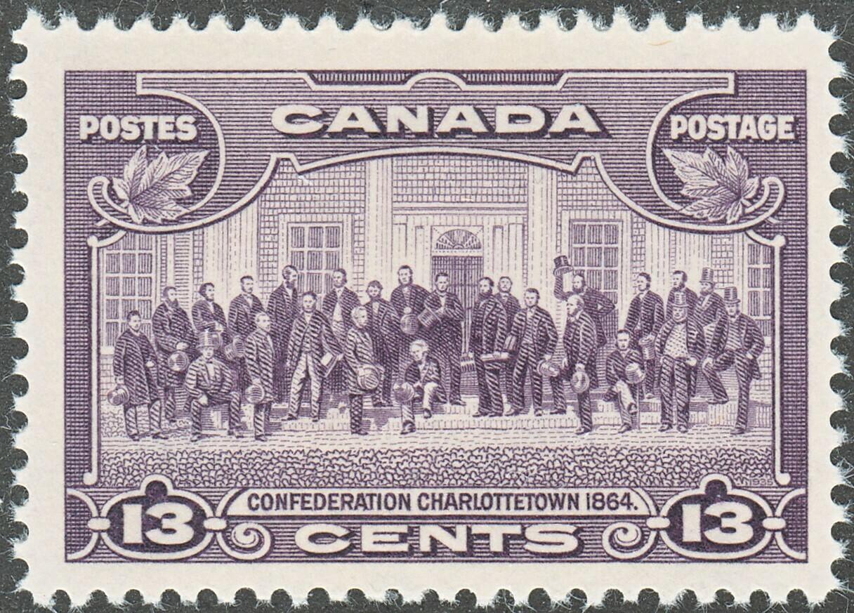 Canada 1935 KGV 13c Confederation Conference MUH (A)