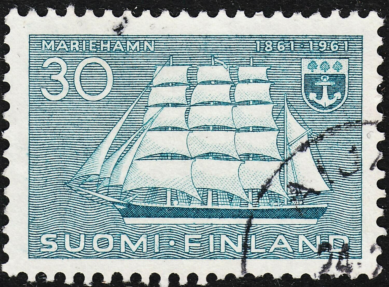Finland 1961 30m Centenary of Mariehamn, Capital of Aland VFU