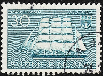 Finland 1961 30m Centenary of Mariehamn, Capital of Aland VFU