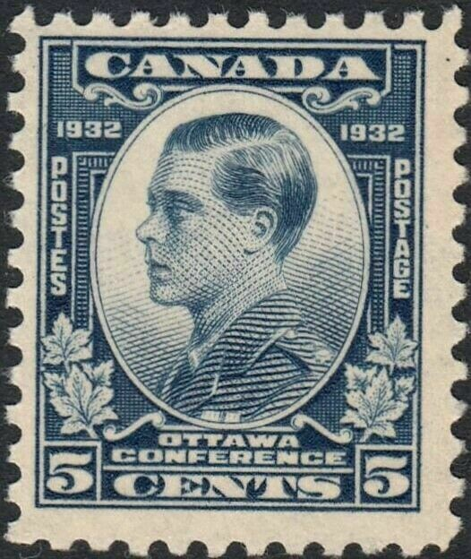Canada 1932 KGV 5c Ottawa Conference MUH