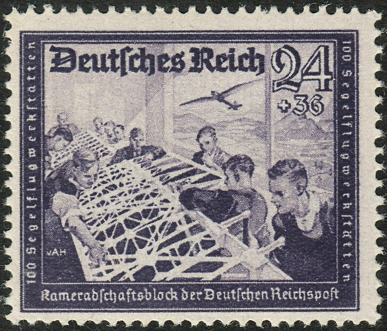 Germany 1941 24pf + 36pf Violet MUH