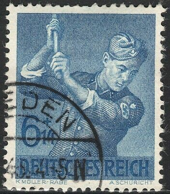 Germany (Reich) 1943 6pf+14pf Labour Corps FU