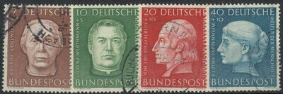 Germany (West) 1954 Humanitarian Relief Fund Set VFU