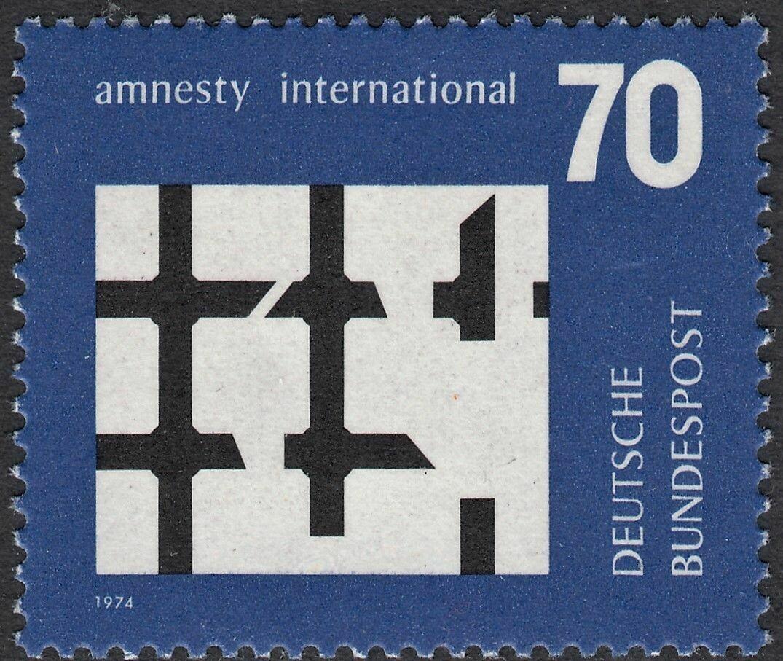 Germany (West) 1974 70pf Amnesty International MUH