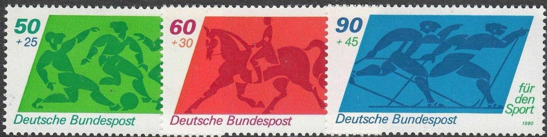 Germany (West) 1980 Sport Promotion Fund Set MUH