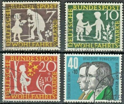 Germany (West) 1959 Humanitarian Relief Fund Set FU