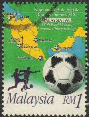 Malaysia 1997 1r 9th World Youth Football Championship VFU