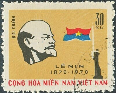 National Front for the Liberation of South Vietnam 1970 30x Lenin Centenary VFU