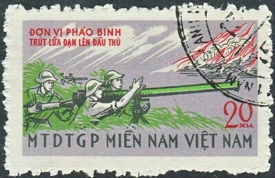 National Front for the Liberation of South Vietnam 1968 20x Bazooka Crew VFU