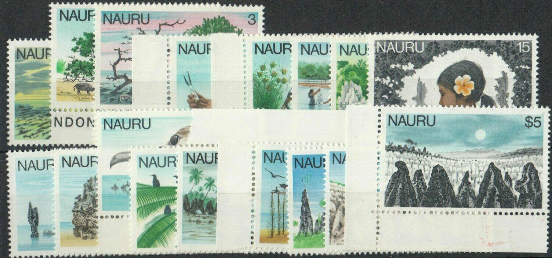Nauru 1978 QEII Definitives Set MUH