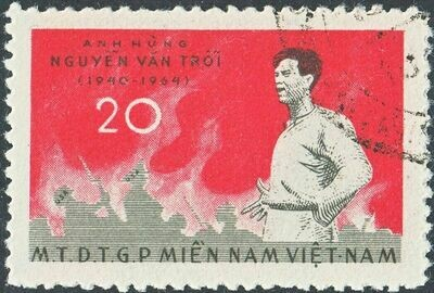 National Front for the Liberation of South Vietnam 1965 20x 5th Anniv of NLF VFU