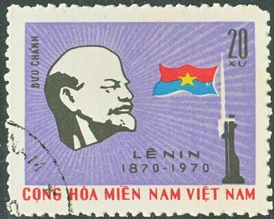 National Front for the Liberation of South Vietnam 1970 20x Lenin Centenary VFU