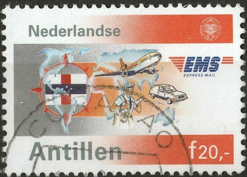 Netherlands Antilles 1991 20g 6th Anniversary of Express Mail Service VFU