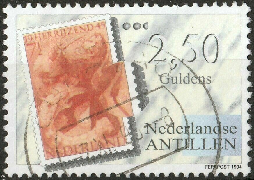 Netherlands Antilles 1994 2g50 Fepapost Exhibition FU