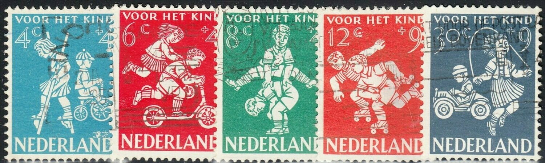 Netherlands 1958 Child Welfare Set FU