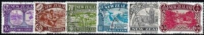 New Zealand 1989 Heritage (Issue II) People Set VFU