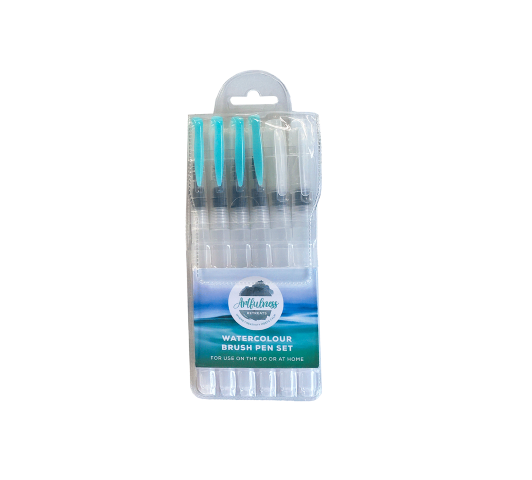 Artfulness 6-piece Refillable Paintbrush Set