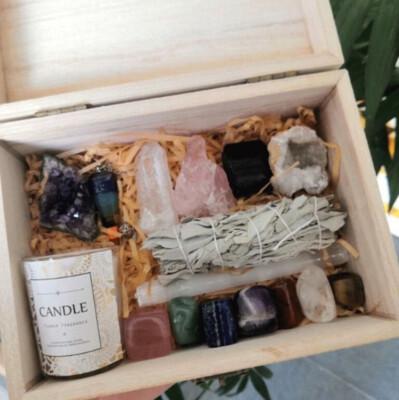 Healing Home & Heart Self-Care Crystal Healing Kits