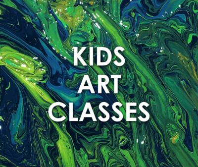 Kids Art Classes - Term 2, 2021
