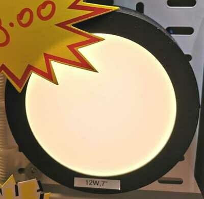 ​Led ceiling light, Round (Black/White)