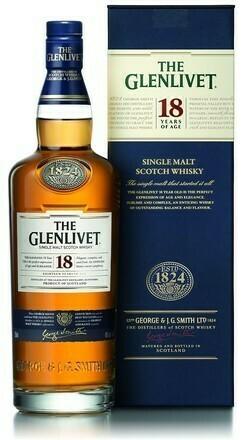 The Glenlivet 18 years 0,7l 43%