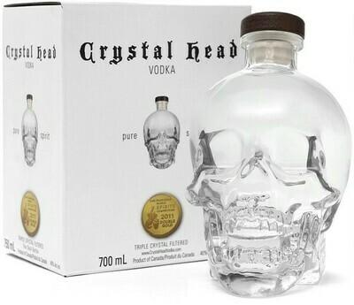 Crystal Head 0,7l 40% GB