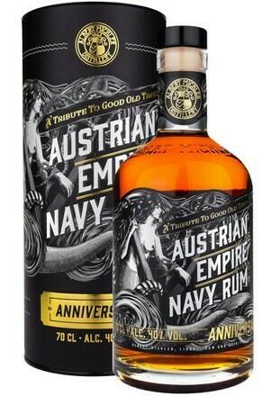 Austrian Empire Navy Rum Anniversary 0,7l 40%