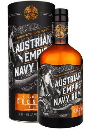 Austrian Empire Solera 18 years Navy Rum Cognac Cask 0,7l 40%