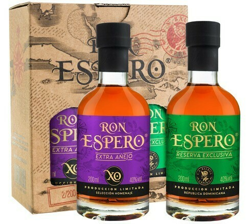 Ron Espero XO+Reserva Exclusiva 2x0,2l 40%