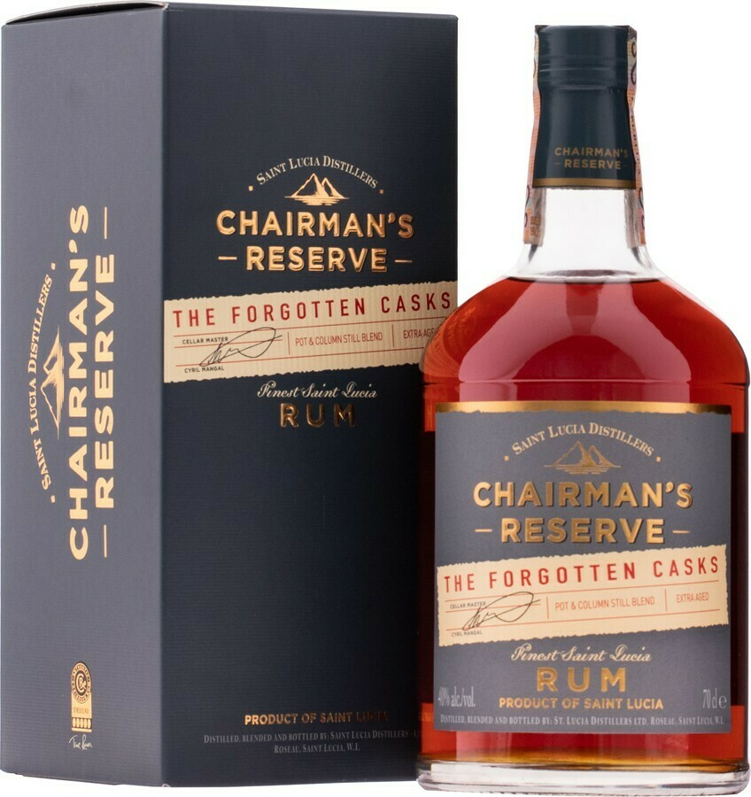 St Lucia Distillers Chairman's Reserve The Forgotten Casks 0.7L (40%)