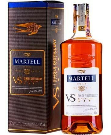 Martell VS Single Distillery Cognac 40% DD