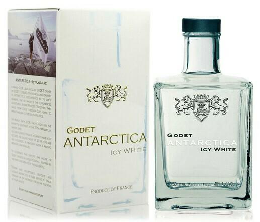 Godet Antarctica Icy White Cognac 0,5l 40%