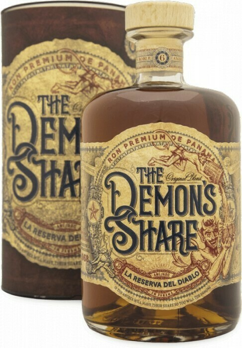 The Demon's Share Rum, 40%, 0,7l, GIFT