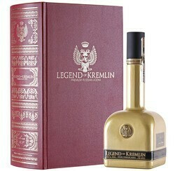 Legend of Kremlin Red Book Edition Vodka 0,7l 40% DD