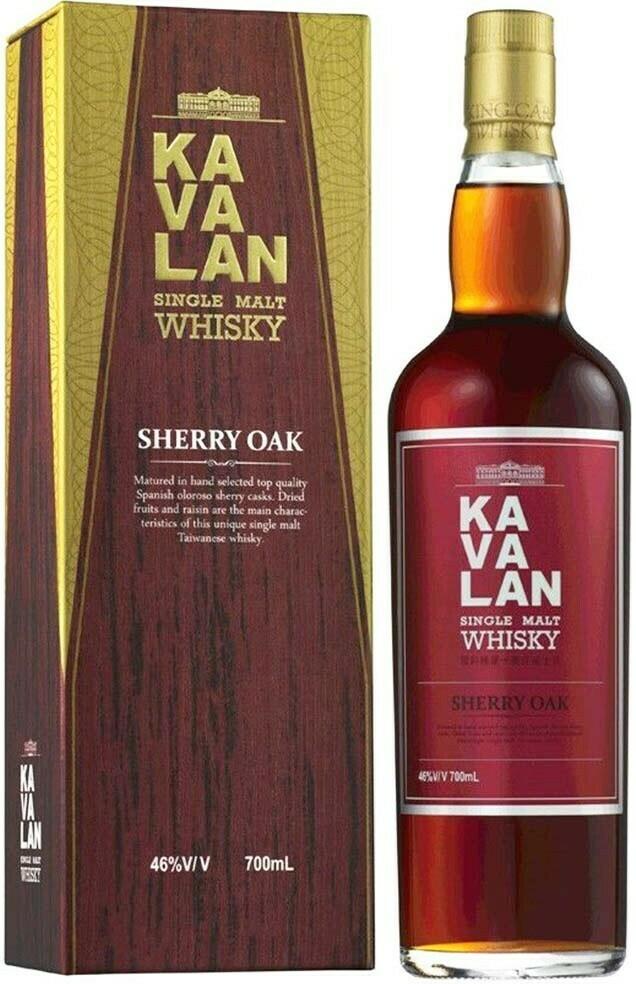 Kavalan Sherry Oak 0,7l 46%