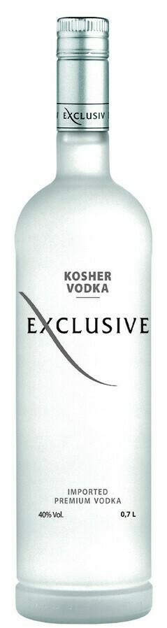 Exclusive Kosher Vodka 0,7l 40%