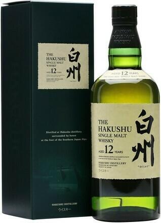 Suntory HAKUSHU 12 years 0,7l 43%