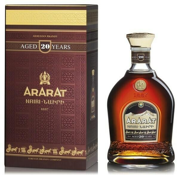 Ararat Nairi 20 years 0,7l 40%