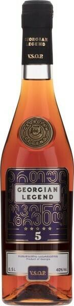 Georgian Legend VSOP 0,5l 40%