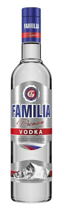 Familia Premium Vodka 0,7l 38%