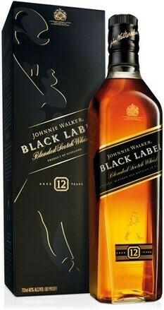 Johnnie Walker Black Label 12 years 0,7l 40%