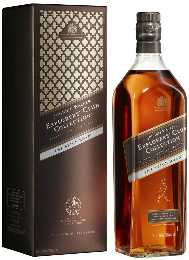 Johnnie Walker Explorers Spice Road 1l 40%