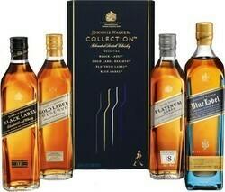 Johnnie Walker Collection Set 4x0,02l 40%