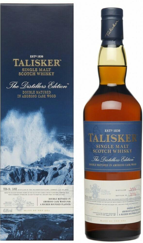 Talisker Distillers Edition 2006-2016 0,7l 45,8%