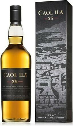 Caol Ila 25 years 0,7l 43%