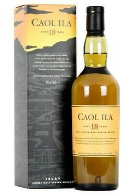 Caol Ila 18 years 0,7l 43%