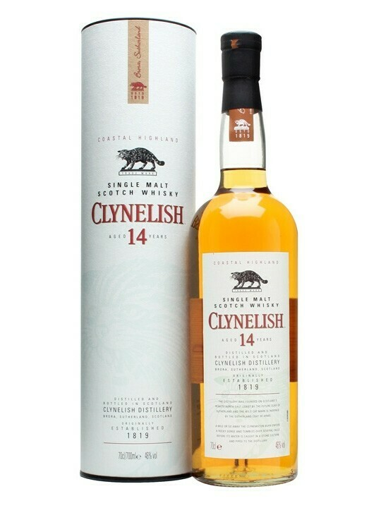 Clynelish 14 years 0,7l 46% TU